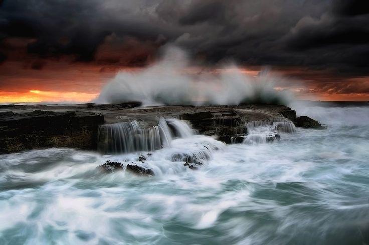 Seascape Photography - Kieran O'Connor Photography - Wild Austinmer Seascape