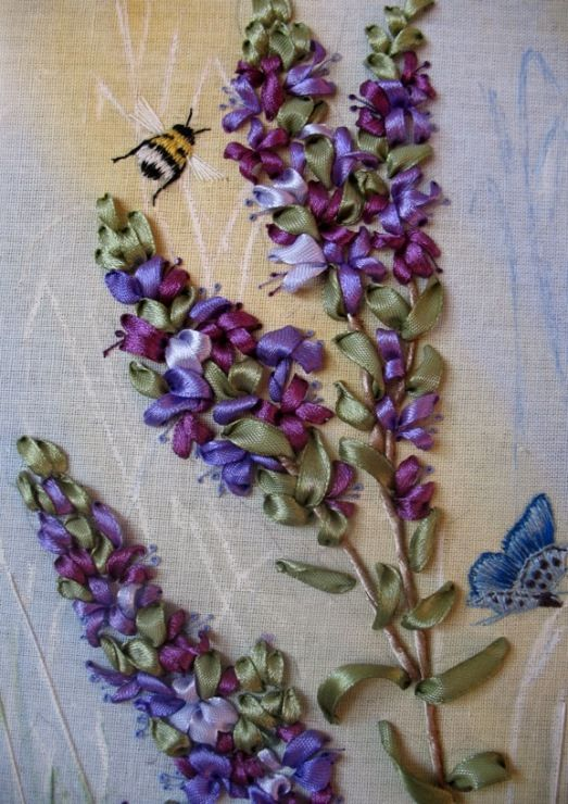 574 Best Ribbon Embroidery Images On Pinterest