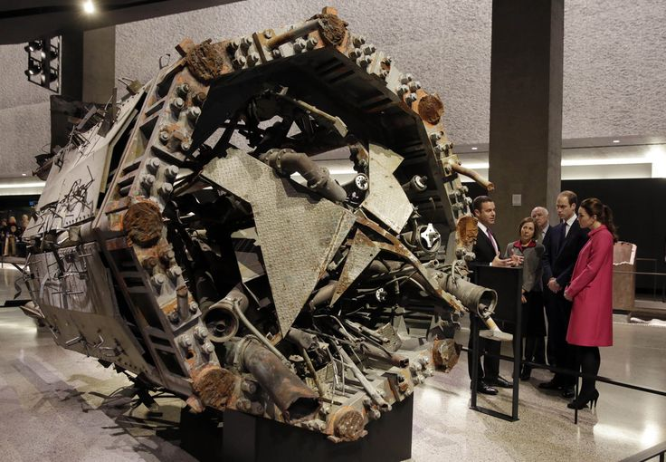 Le Duc et La Duchesse ont visité le National Mémorial & Muséum à New York en mémoire des victimes des attaques terroristes du 11 septembre.