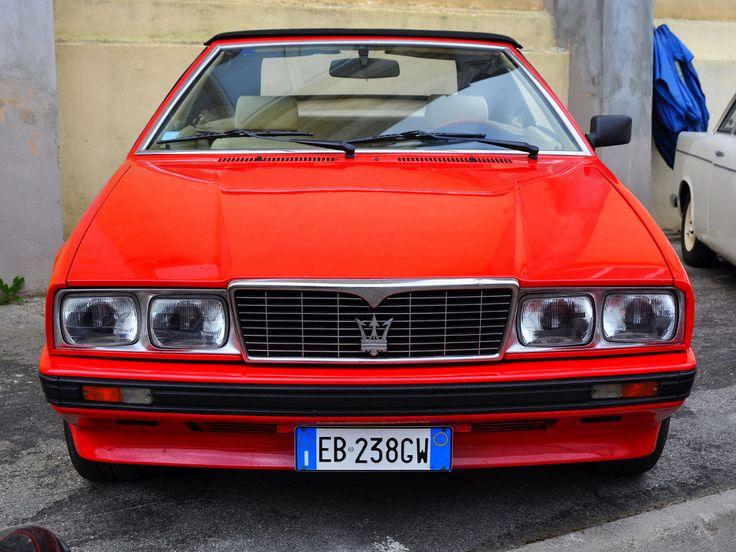 Maserati Biturbo Spyder Zagato