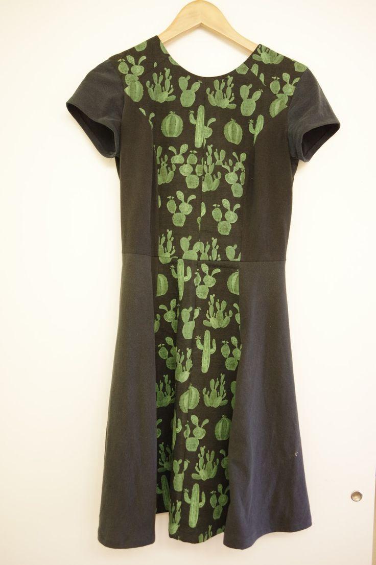 Begonia Sews // Cactus Karri dress
