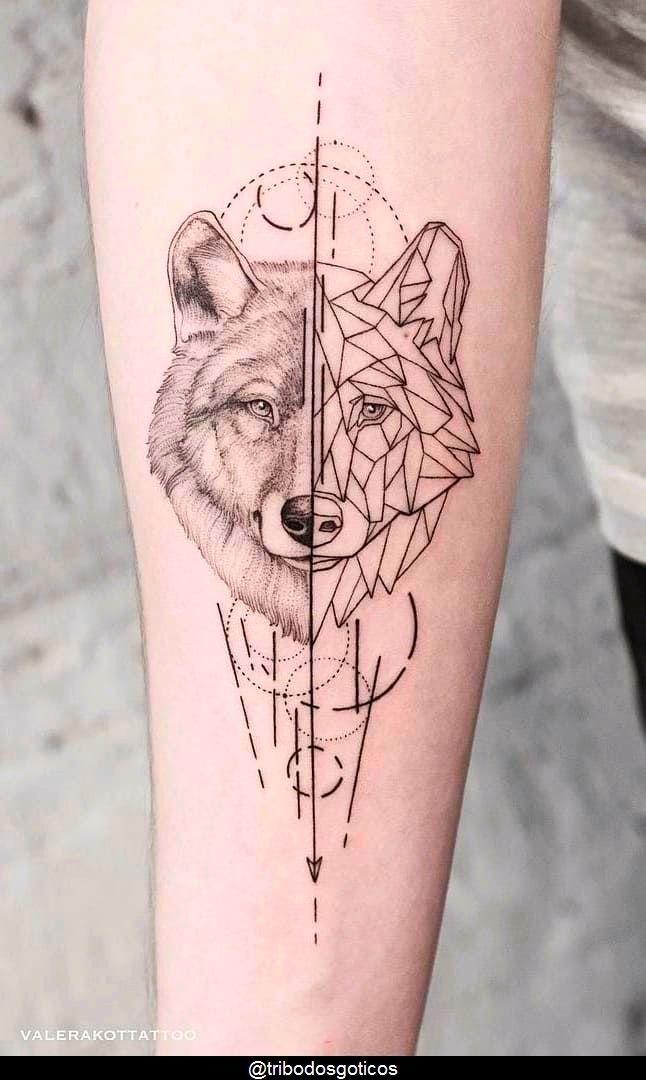 tattoo ideas female arm wolf em 2020 | Lobo tatuagem, Tatuagem, Tatuagens