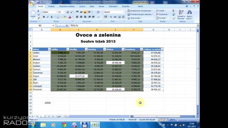 Josef Cvrček - Excel pro každodenní použití - 2.3.