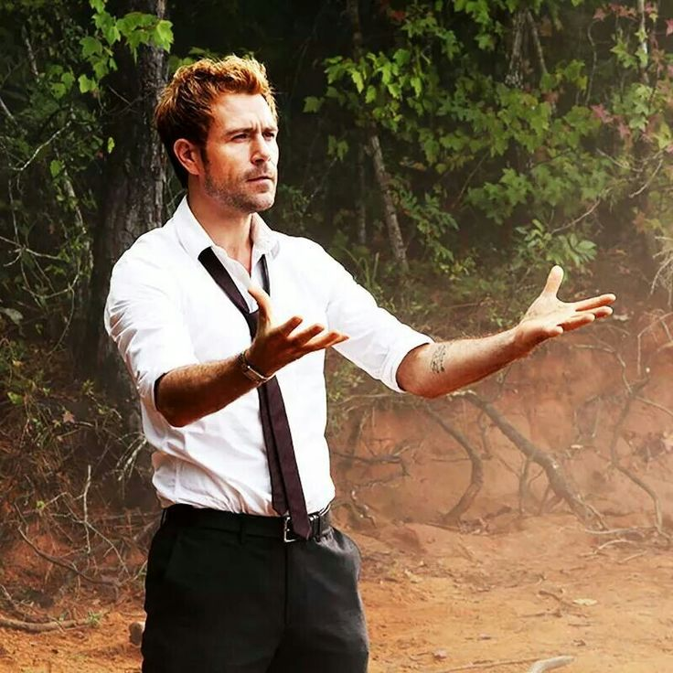 John is casting a season renewal spell, don't break his concentration. #SaveConstantine