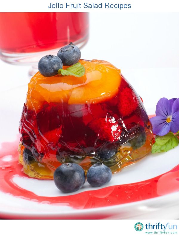 This page contains jello fruit salad recipes. Gelatin fruit salads make wonderful additions or desserts for many meals.