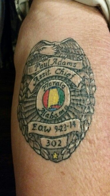 66 best images about law enforcement tattoos on pinterest for Law enforcement memorial tattoo