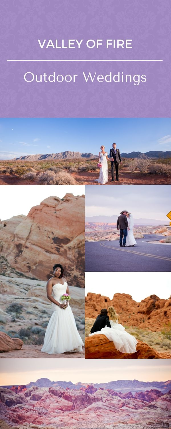 Valley of Fire Weddings. Book your outdoor wedding package