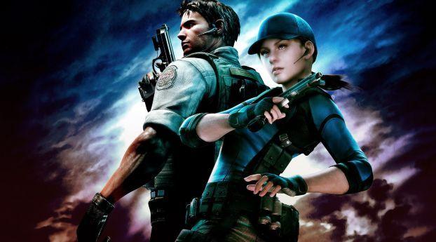 Resident Evil Characters Girl