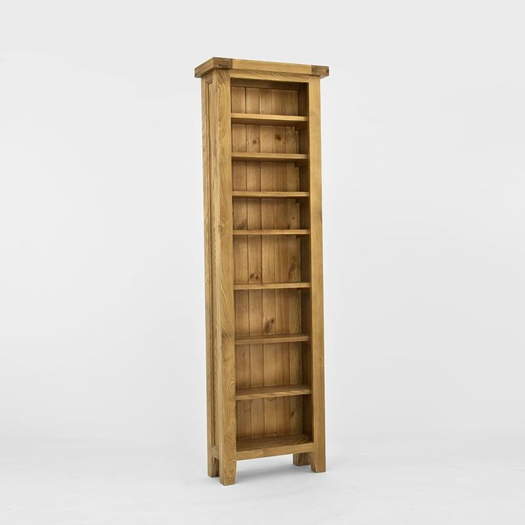 Provence Solid Oak Cd/Dvd Bookcase -  - Bookcase - Ametis - Space & Shape - 1