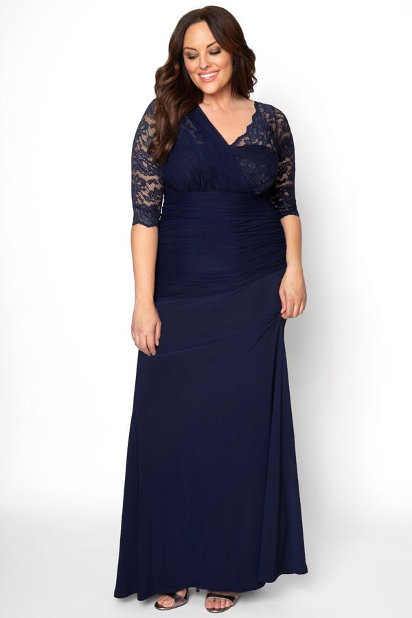 4581dd950c5b Our Soiree Evening Gown is elegant and timeless for your special occasion.  A faux one