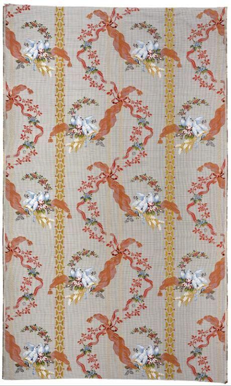 Maison Rubelli (fabricant), Laize de tissu façonné Madame du Barry, Venise,  2014. MT 2014.2.10. Don Rubelli, 2014 © Musée des Tissus, Pierre Verrier