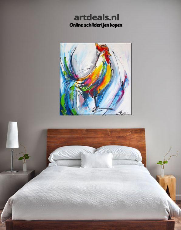 1000 images about dieren schilderijen animal paintings On slaapkamer schilderij