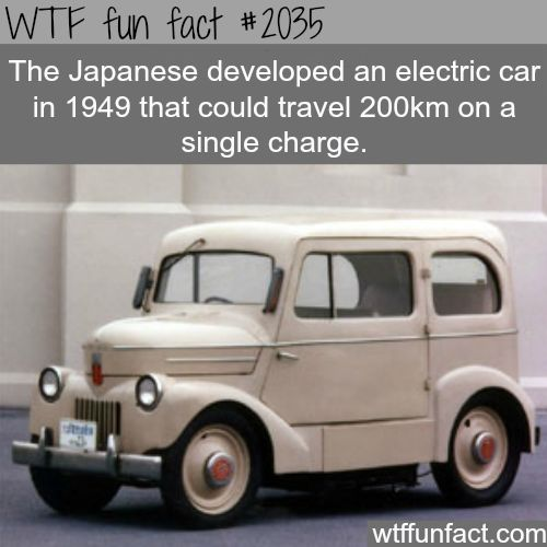 The Anese Electric Car History Fun Facts Weird