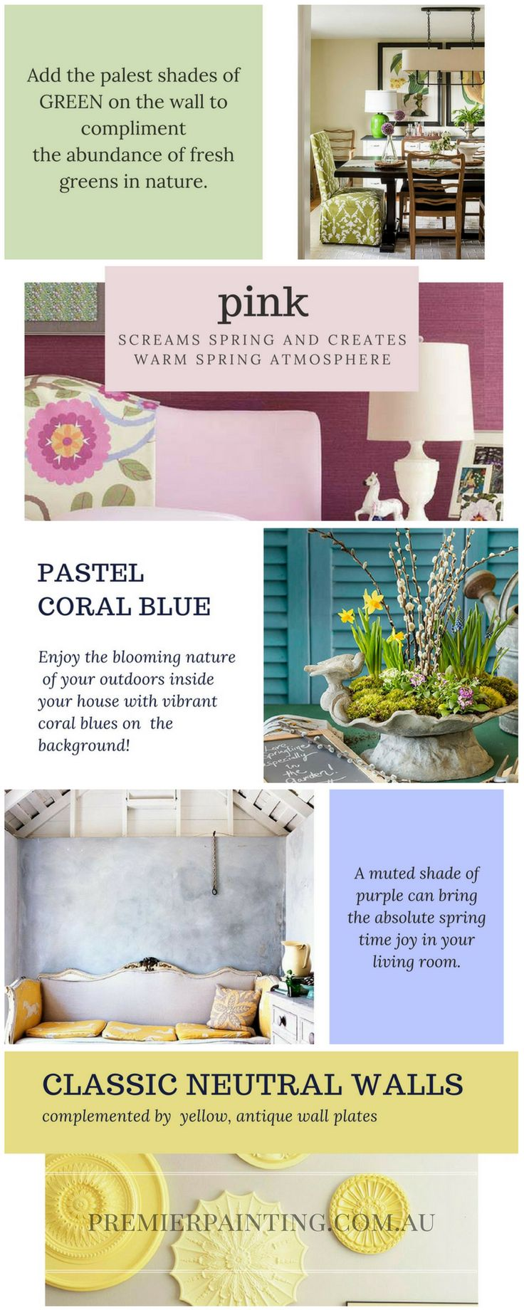 Pastels To Warm Your Home Interior