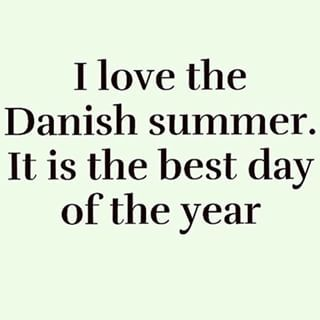 There is really nothing quite like a Danish summer. | 24 Signs It's Summer In…