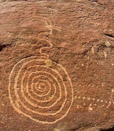 Alice Springs in Australia near Pine Gap