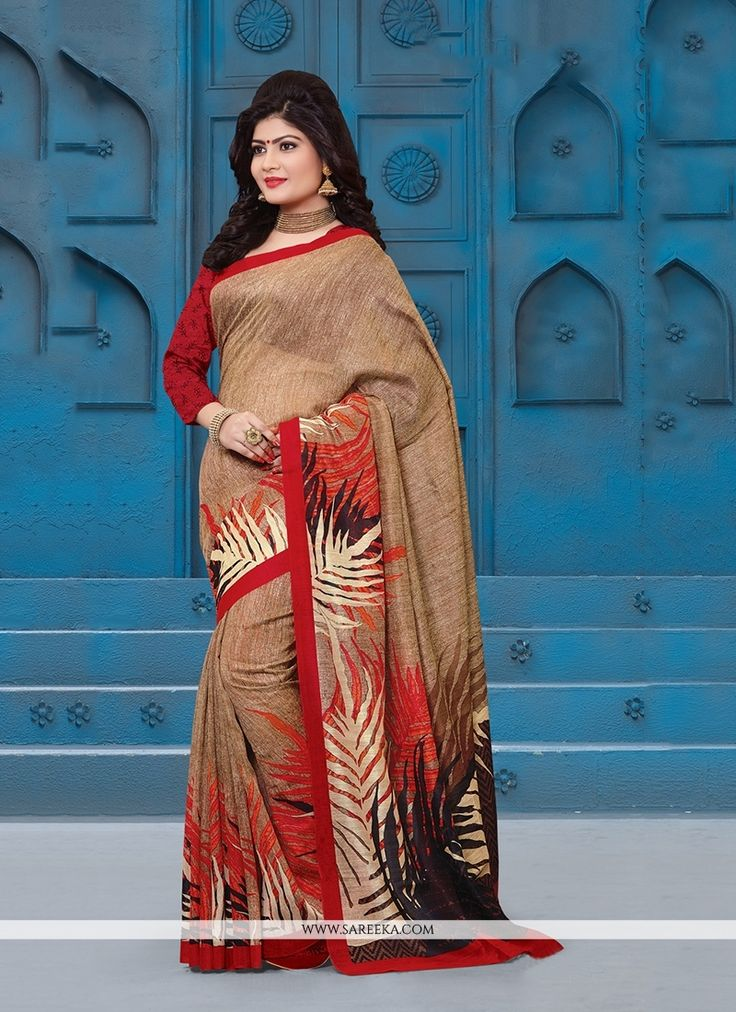 This multi colour silk casual saree is including the attractive glamorous displaying the feel of cute and graceful. The print work appears chic and great for any celebration. Comes with matching blous...