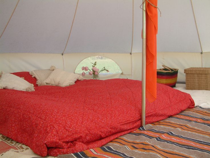 Enjoying Indoors Outdoors – Pukka 5M Zipped Bell Tent  http://www.pukkatents.co.uk
