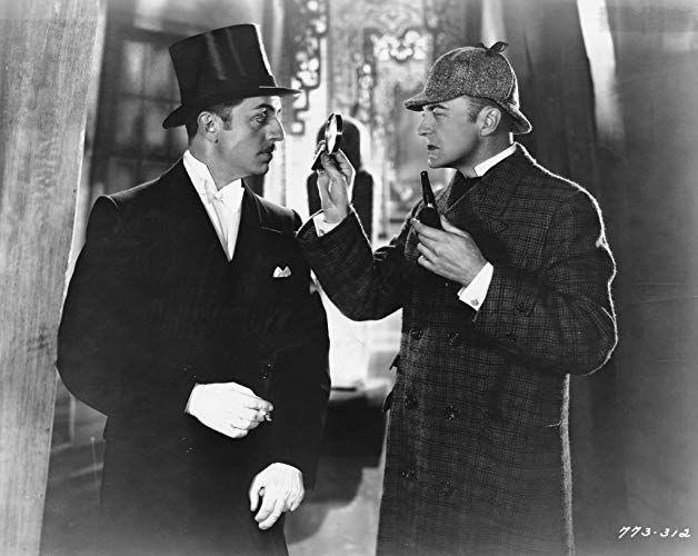 John Barrymore And William Powell In Sherlock Holmes 1922 Sherlock Holmes Sherlock Holmes