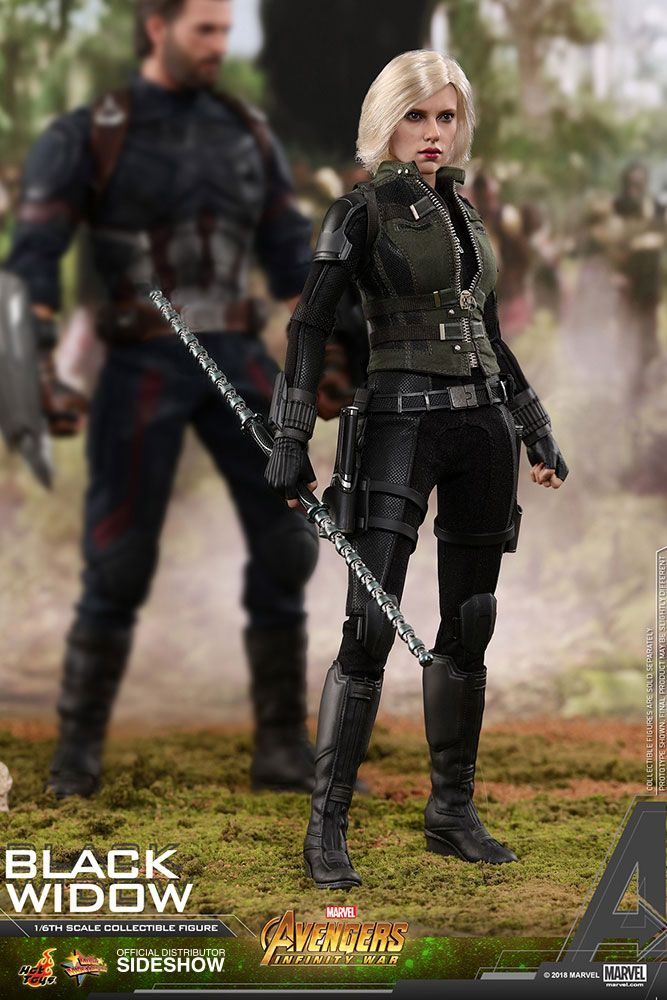 Marvel Black Widow Sixth Scale Figure By Hot Toys Sideshow