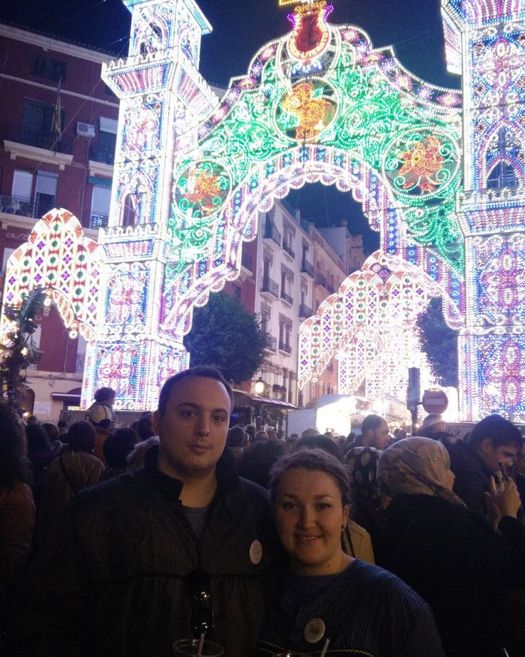 Partying and being amazed at the fallas de Valencia      #2europeans #spain #españa  #valencia #europe #fallas2017 #fallas #light #colour #party #picoftheday #nofilter #views #city #citybreak #amazingpic #couple #hashtag #goals #instagram #picture  #lifestyle #travelphotography #travelgram #traveltheworld #trip #travelling #travel #world #worldtraveler