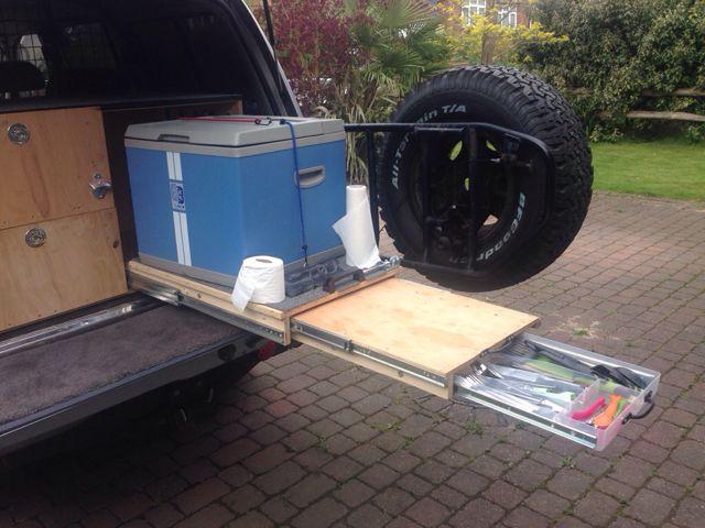 Home made drawer/storage system ideas? Materials, layout, etc? | Land Cruiser Club