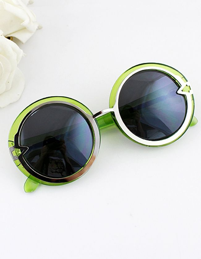 13$  Buy here - http://di9gx.justgood.pw/go.php?t=710 - Fashion Trends Multicolor Chunky Round Shape Sunglasses With Boxes Sunglasses