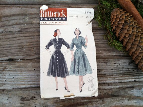 Check out this item in my Etsy shop https://www.etsy.com/listing/171580655/vintage-1950s-ladies-full-skirt-dress