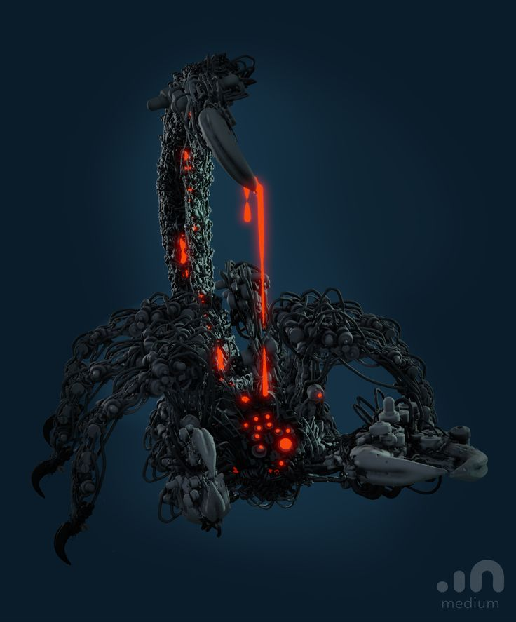 Caustic Scorpion made in Oculus Medium by Glen Southern ...
