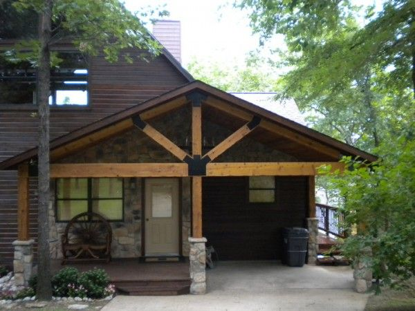 25 best attached carport ideas on pinterest patio roof for Carport with attached workshop