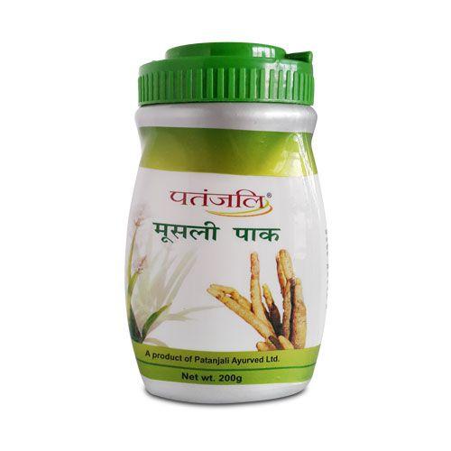 Patanjali musli pak is an Ayurvedic health tonic for general debility and strengthens inner- power. MOOSLI PAK 200gm Price Rs.350