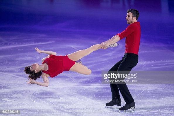 Meagan Duhamel and Eric Radford of Canada...