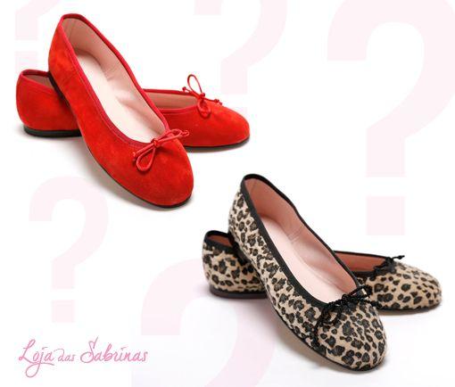Sentes-te mais sexy com as nossas Sabrinas Morango ou Jaguar? Inspira-te clicando no link do nosso perfil.