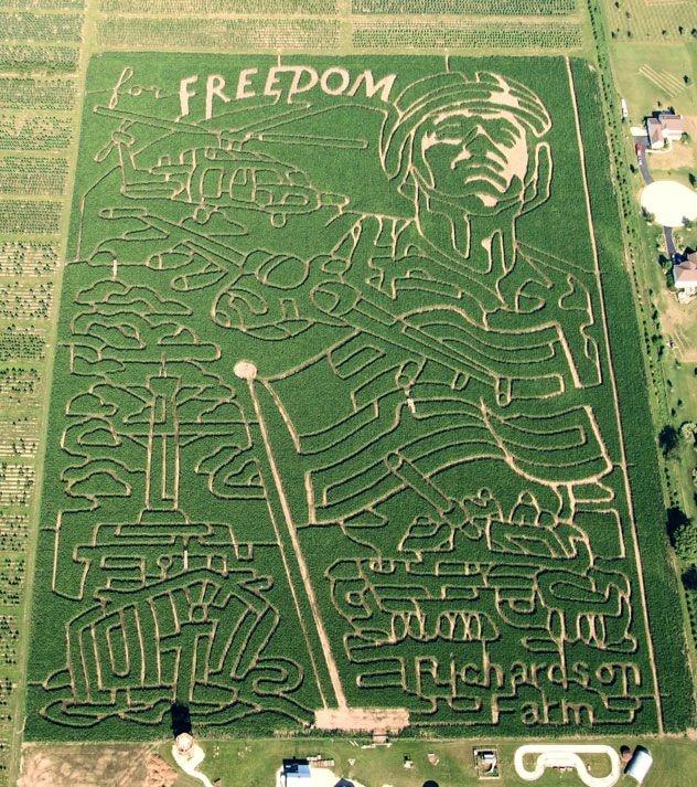 Richardson Adventure Farm & Corn Maze, Spring Grove ...