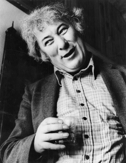 """""""I've always associated the moment of writing with a moment of lift of joy of unexpected reward."""" Seamus Heaney. (What brings you joy?)"""