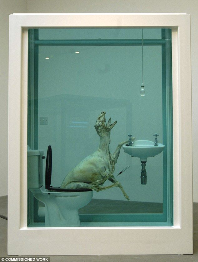 Les 8 meilleures images du tableau damien hirst sur pinterest art contemporain cabinet de - Cabinet de curiosite contemporain ...