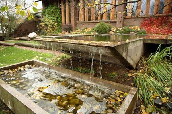 Gartengestaltung-Ideen-mit-Brunnen - 30 Gartengestaltung Ideen – Der Traumgarten zu Hause
