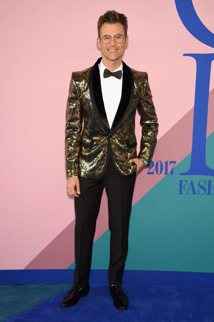 Brad Goreski in Marc Jacobs and Kenneth Cole shoes