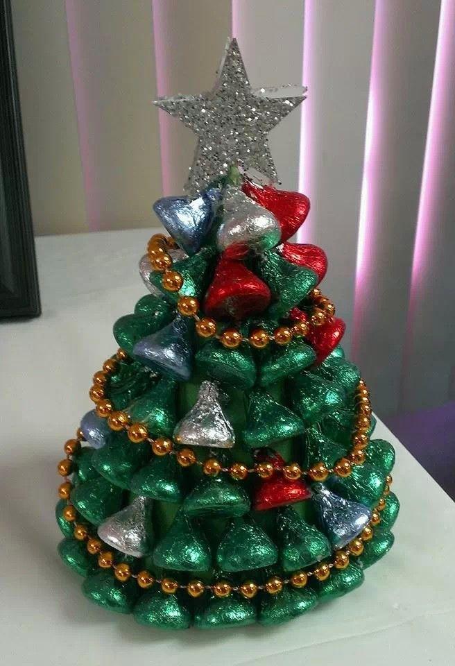 Hershey kiss chocolate christmas tree   Christmas   Pinterest ...