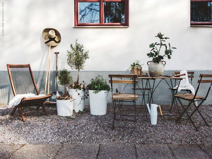 Uteplatsen – på plats! | Livet Hemma – IKEA
