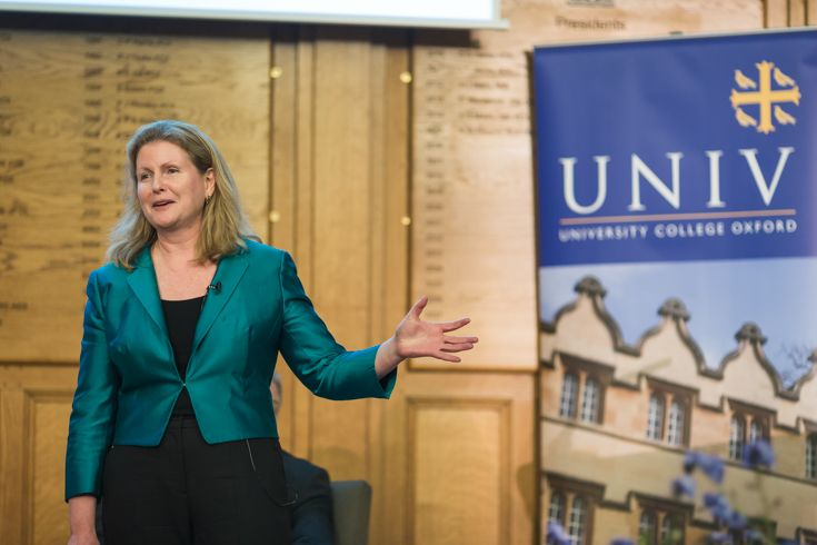 Sian Fisher (1981, Law) CEO of the Chartered Insurance Institute.