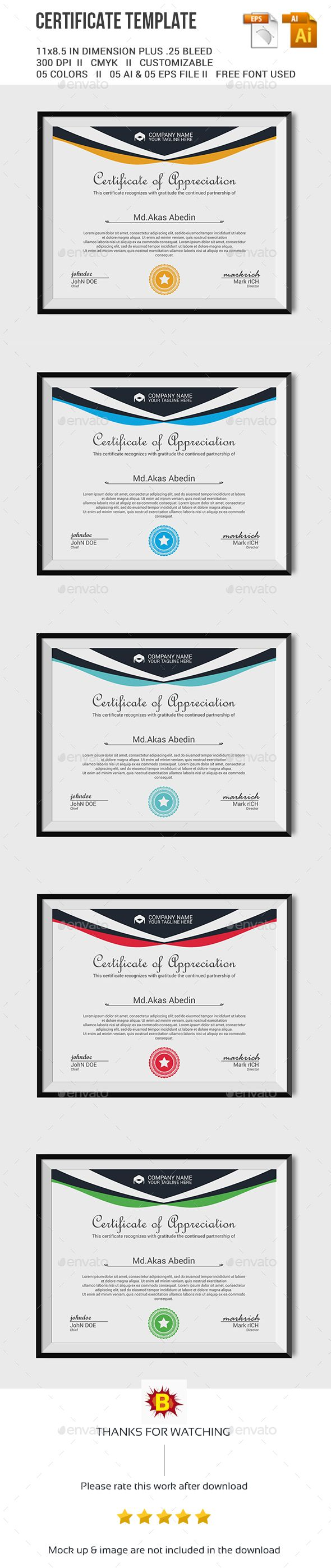 Certificate Template Vector EPS, AI. Download here: http://graphicriver.net/item/certificate-template/13539951?ref=ksioks