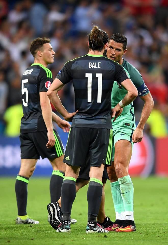 Cristiano Ronaldo VS Gareth Bale Wallpaper - Euro 2016