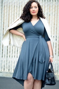 everyday fashion for apple shaped plus size women - Google Search