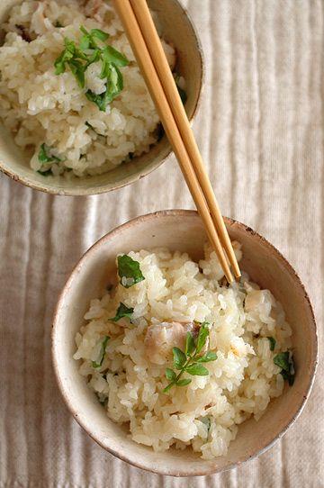 Sea Bream Chameshi 鯛茶飯