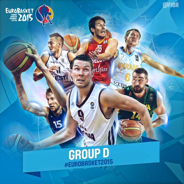 1 day to go to #EuroBasket2015!  Which is your favourite team in Group D?