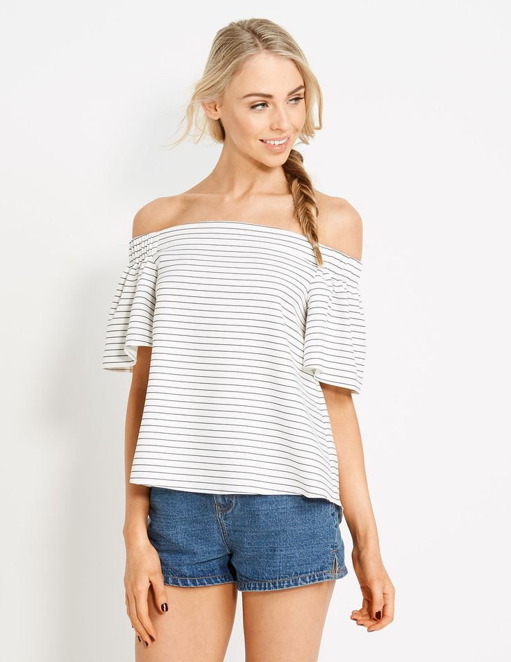 Image for Gigi Shoulder Top from Dotti