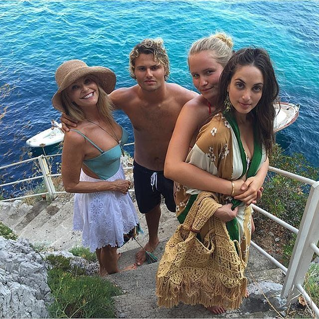 Christie Brinkley and Her Beautiful Family Are Having the Italian Vacation of Your Dreams