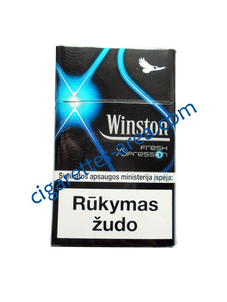 WINSTON Fresh Xspression cigarettes