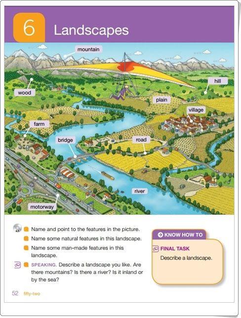 """Unidad 6 de Social Science de 2º de Primaria: """"Landscapes"""""""